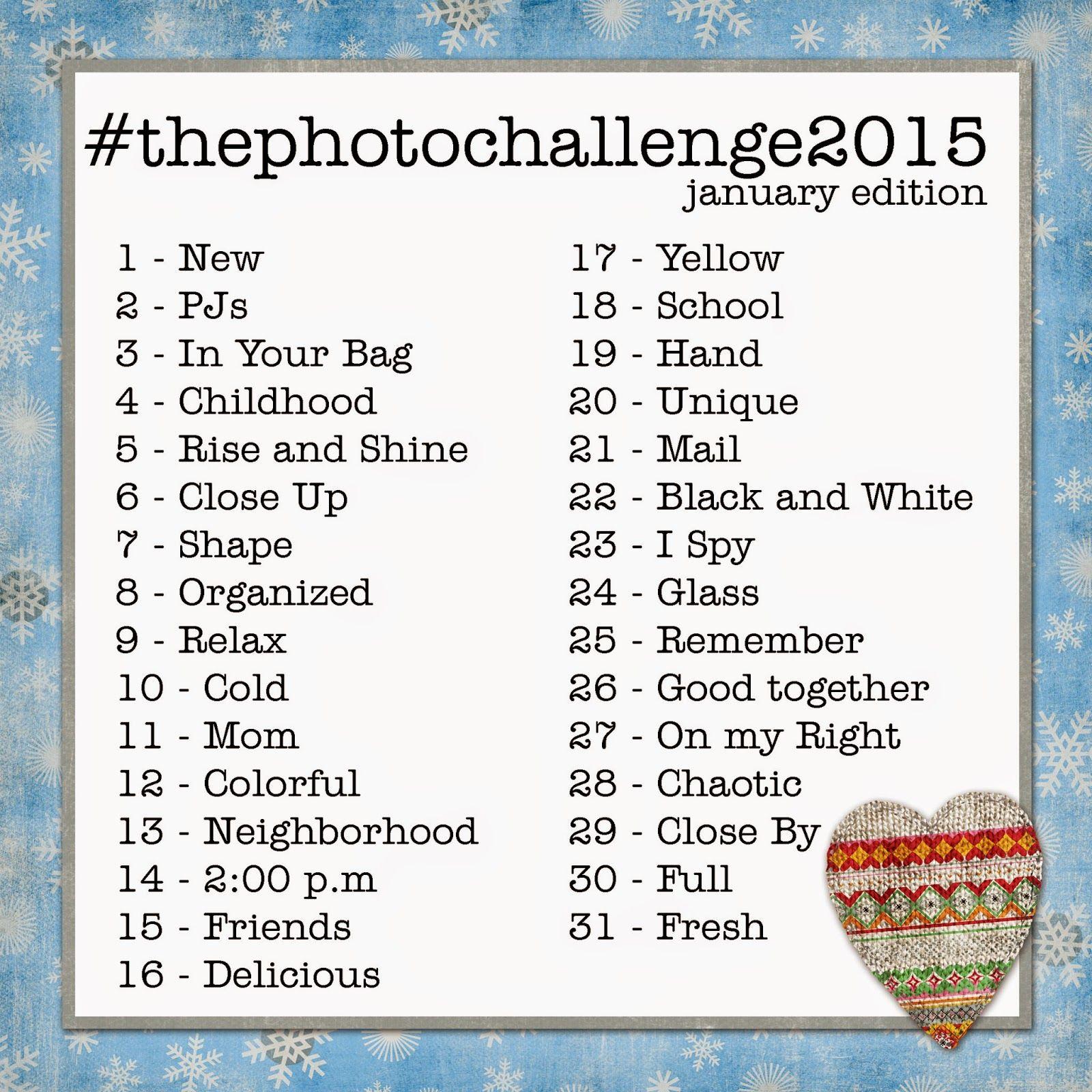 #thephotochallenge2015