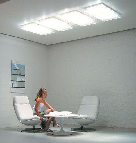 Fiber Optics Sunlight Without Windows Solar Lighting