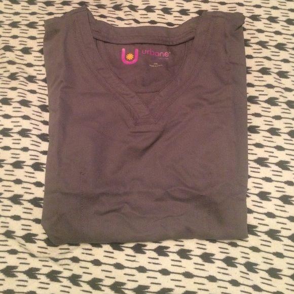 Urbane scrub top size small Brand new with tags urbane scrub top. Gray. Tops