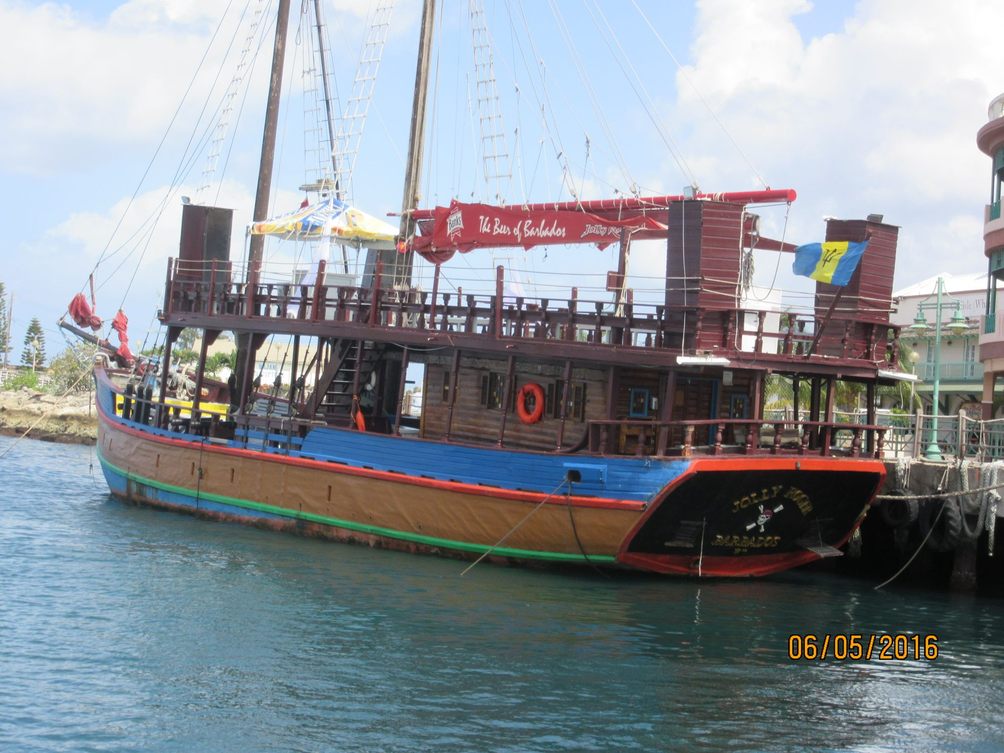 Looking For A Booze Cruise Barbados Has It Jolly Roger Pirate - Pirate ship booze cruise