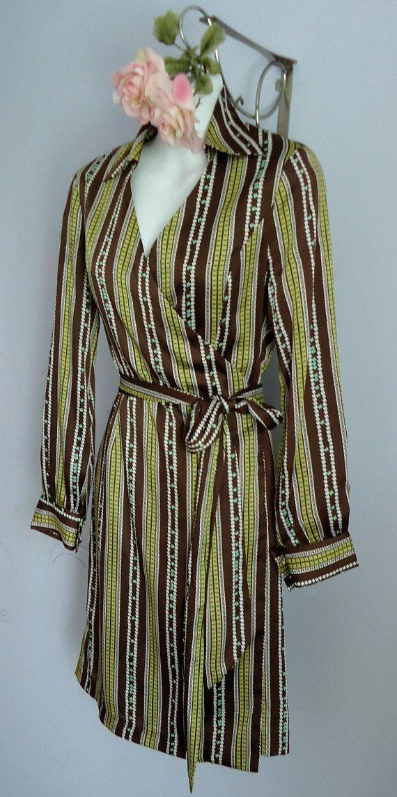 Vintage Diane von Furstenberg Wrap Dress by MadMakCloset on Etsy