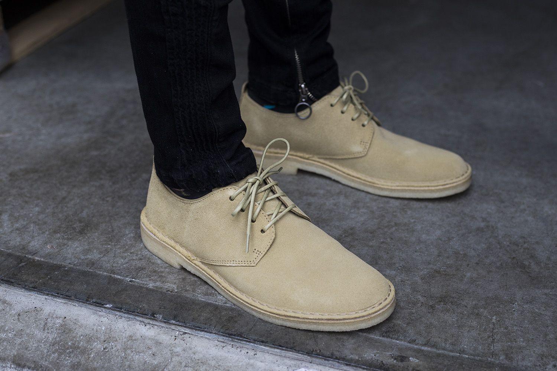 CLARKS ORIGINALS Desert Chaussures de mode pour Homme Beige