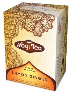 Yogi Tea Lemon Ginger Caffeine Free 16 Tea Bags Pack of 6 Review Buy Now