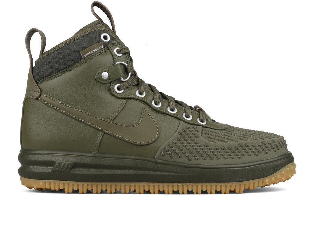 47cbf01544306 NIKE AIR FORCE 1 DUCKBOOT LUNAR FORCE DUCK BOOT OLIVE SZ 8-13 805899-201