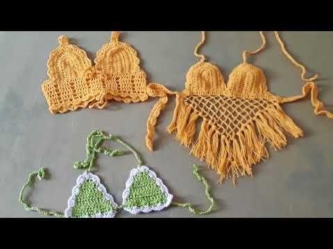 Photo of Top cropped de crochê Infantil
