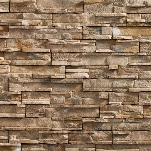 Heritage Driftwood PrecisionFit faux stacked stone panels | House ...