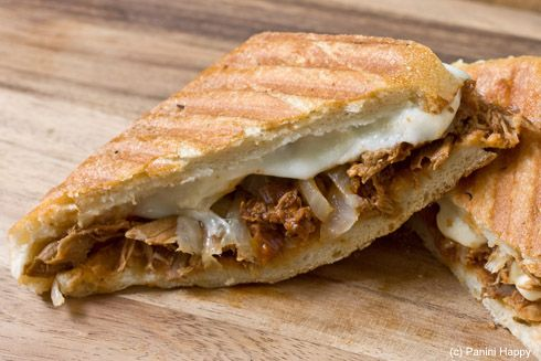 Pulled BBQ Chicken Panini