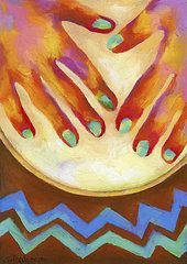 Drum Art - Mundo Bongo by Stephen Anderson