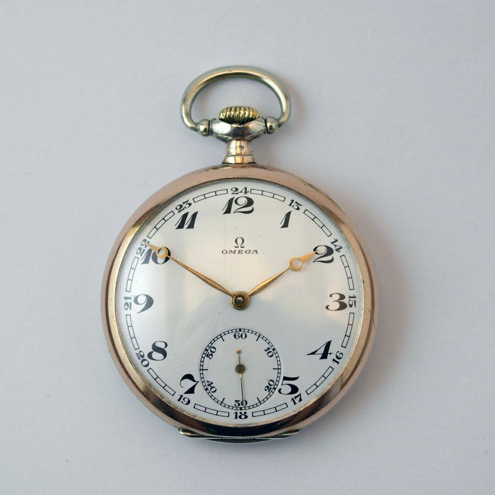Omega Pocket watch from 1936 in unusual caliber via MarCels. Click on the image to see more!