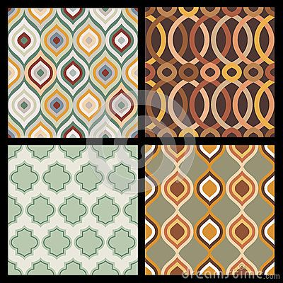 Set Of Seamless Autumn Patterns. Abstract  Geometric Wallpaper. - Download From Over 30 Million High Quality Stock Photos, Images, Vectors. Sign up for FREE today. Image: 44777742