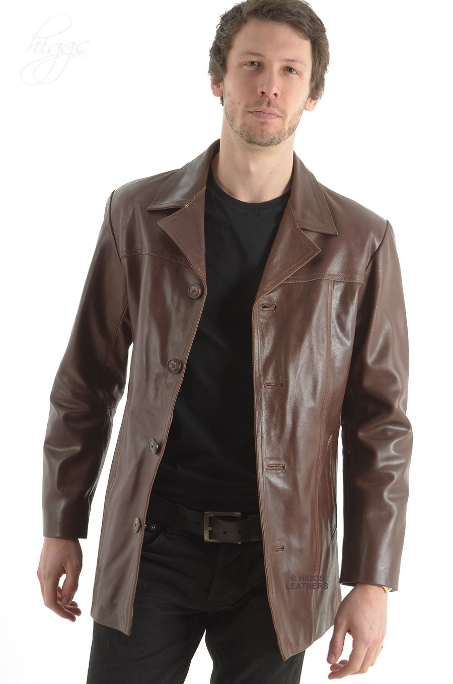 The gallery for -- Brown Leather Jackets For Men Price ...