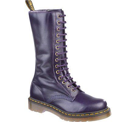 482f43e7695e4 Dr. Martens Women's 1B99 Motorcycle Boot,Potent Purple | I <3 Purple ...
