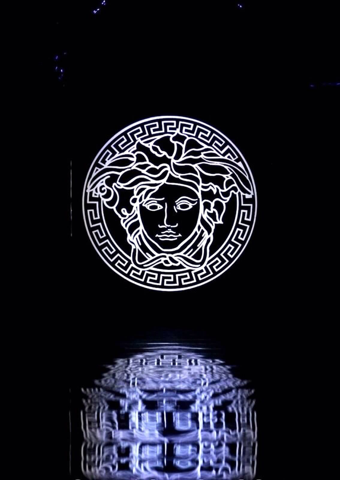 Versace Medusa Head Fondo De Pantalla Pintura Fondo De Pantalla