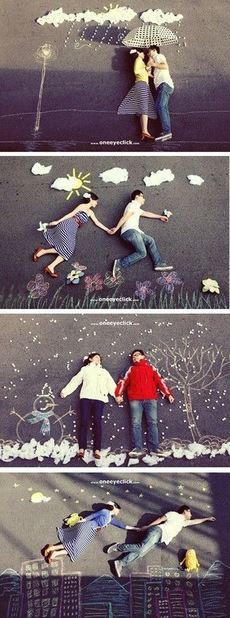 photo ideas... i love the laying down chalk photos- so cool and creative