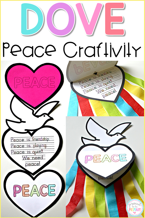 Beautiful Peace Craft: So Easy and Inspirational for your Class!