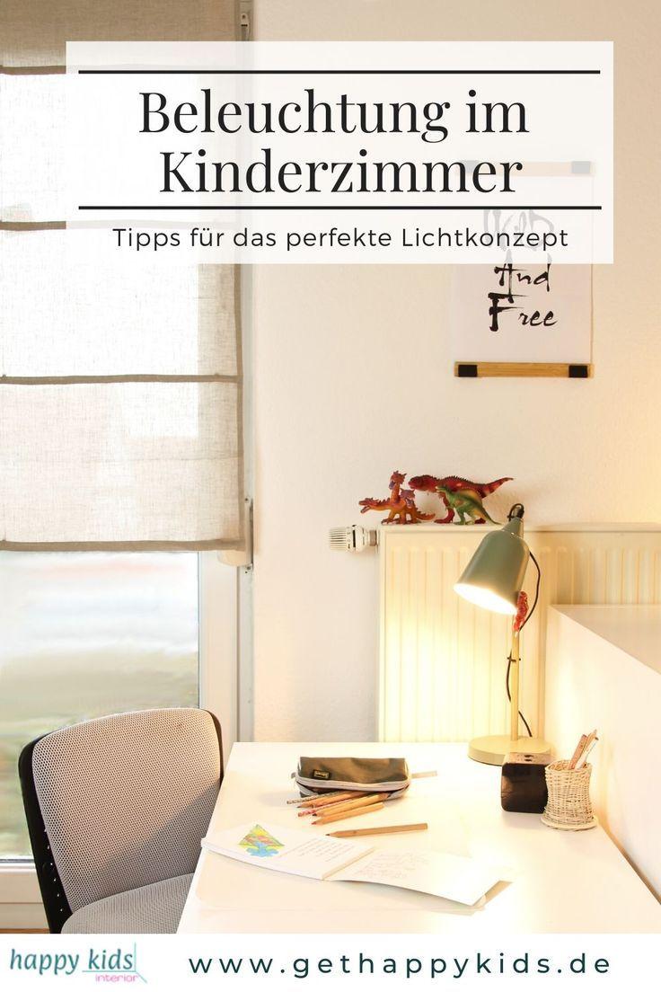 Beleuchtung im Kinderzimmer Tipps für das perfekte