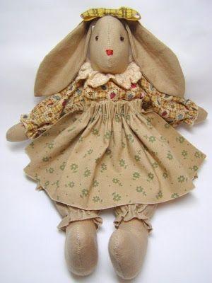 Olá, Andei garimpando uns coelhinhos para ver se me inspiro um pouco, afinal a Páscoa está tão pertinho.  Achei estes muito fofos... Bjs, Gi...