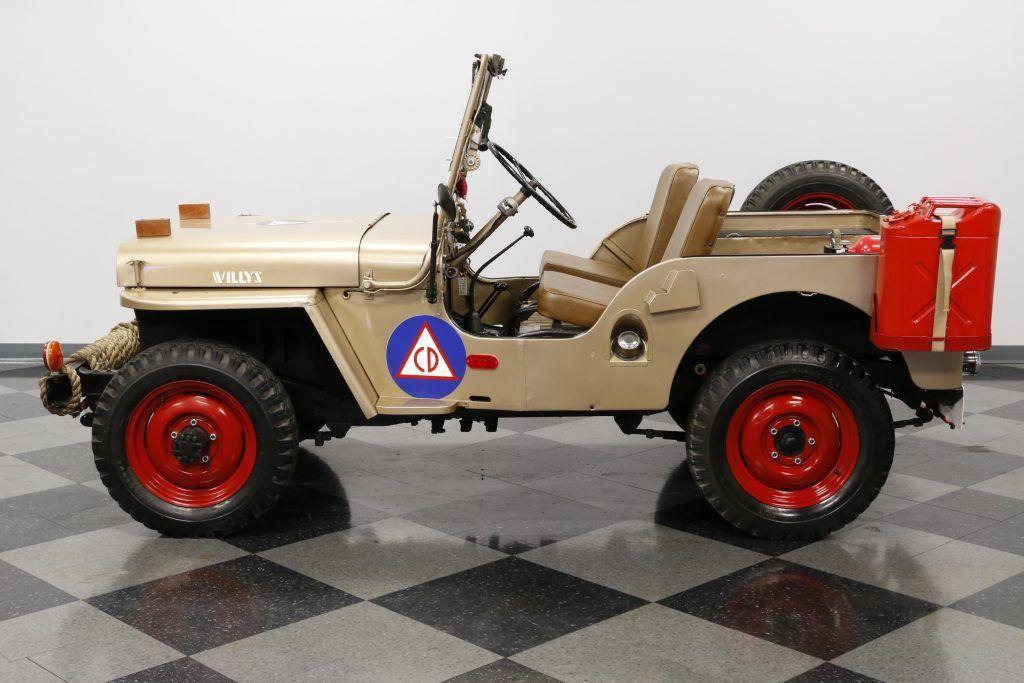 Very Nice 1946 Willys Jeep Cj 2a Jeep Willys