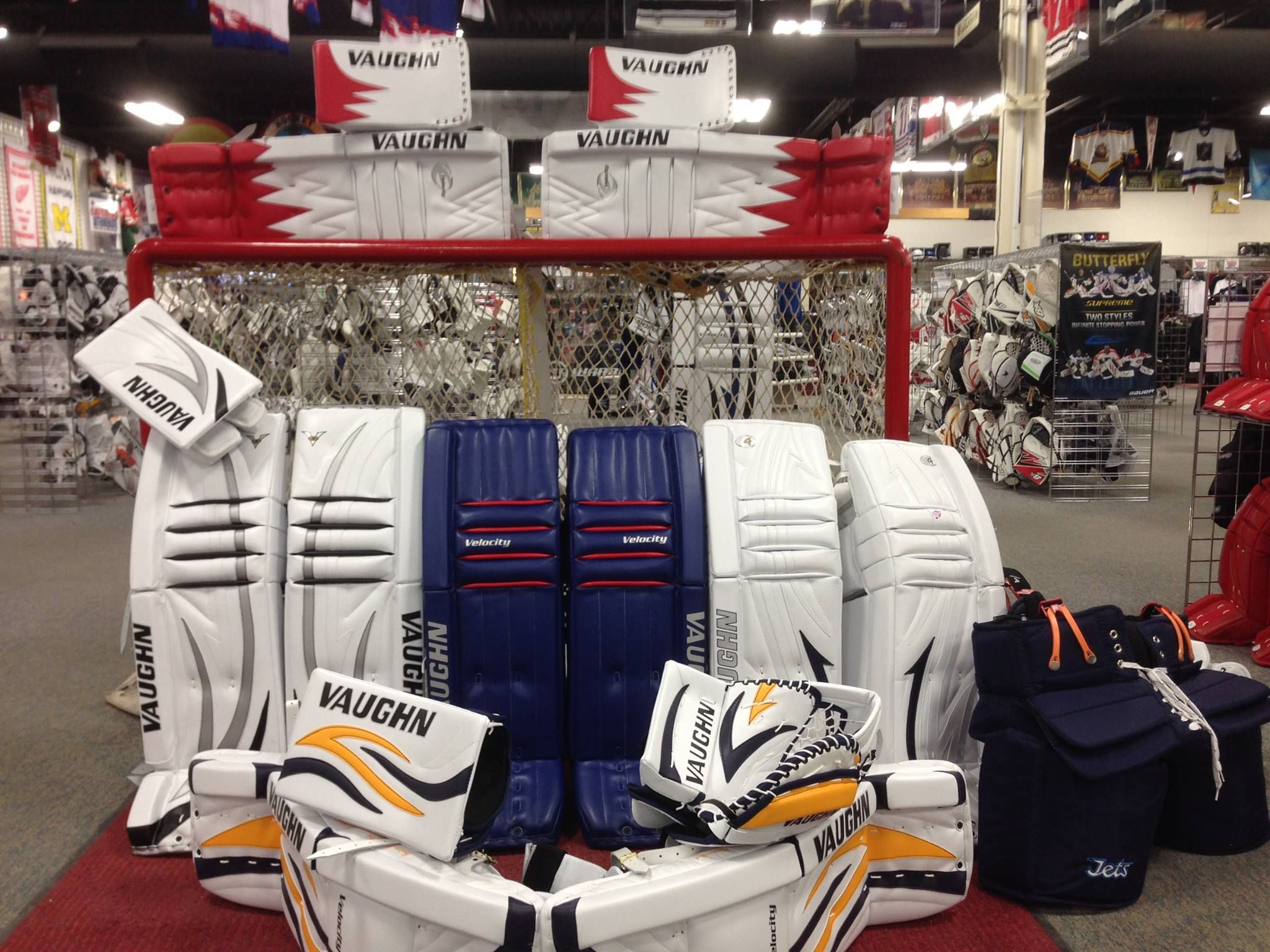 Check It Out Vaughn Pro Return Goalie Gear Is Now In