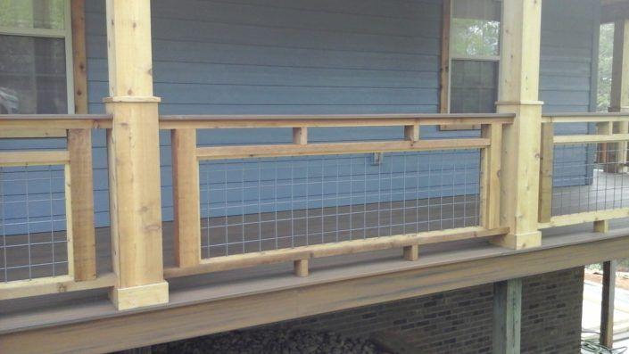 Best Image Result For Hog Wire Fence Deck Railing Design 400 x 300