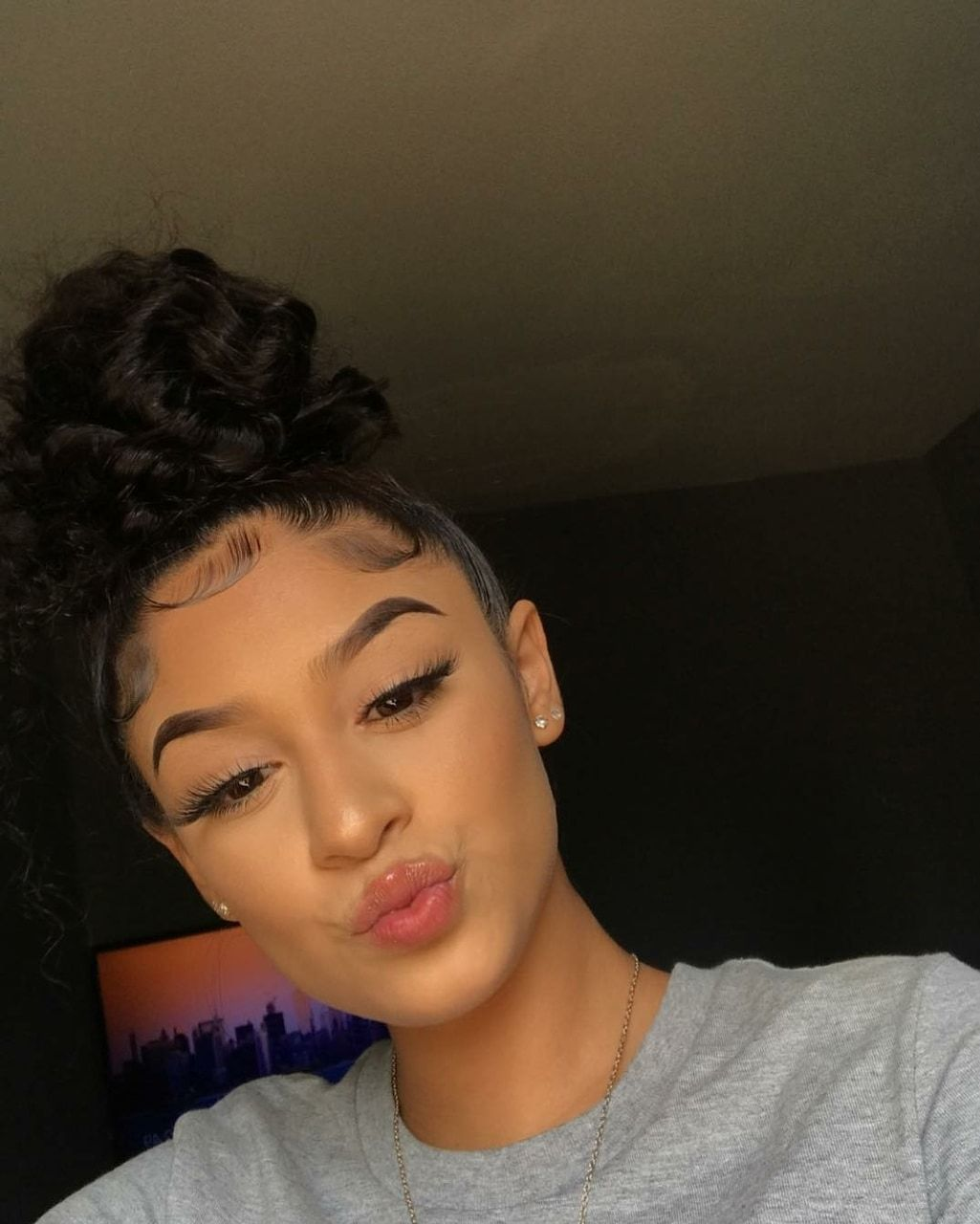 Hairstyles With Edges Latina - Hairstyles With Edges  Baddie