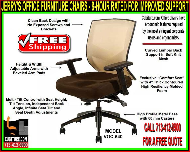 Ergonomic Office Chairs Being Able To Sit At Work All Day As Comfortably As You Do At Home Would Make It Possi Office Furniture Chairs Chair Office Furniture