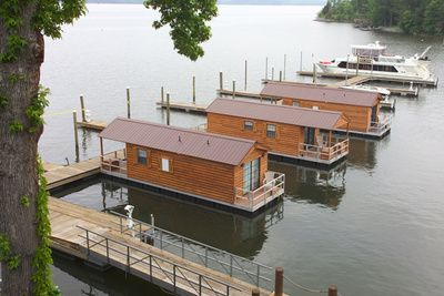 Floating Cabins By Athens Park Homes