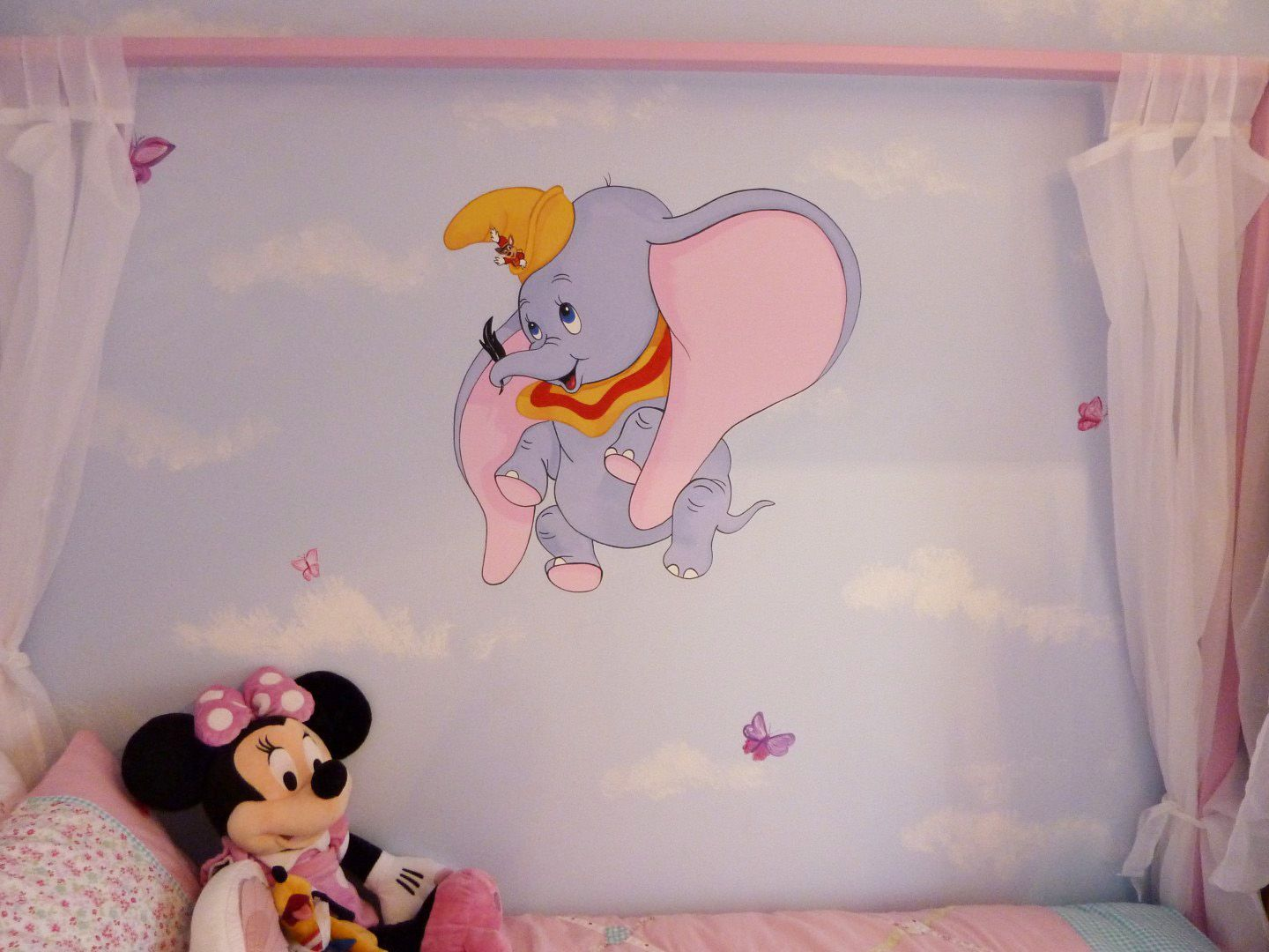 disney dumbo mural murals for nurseries in 2019 baby roomdisney dumbo mural