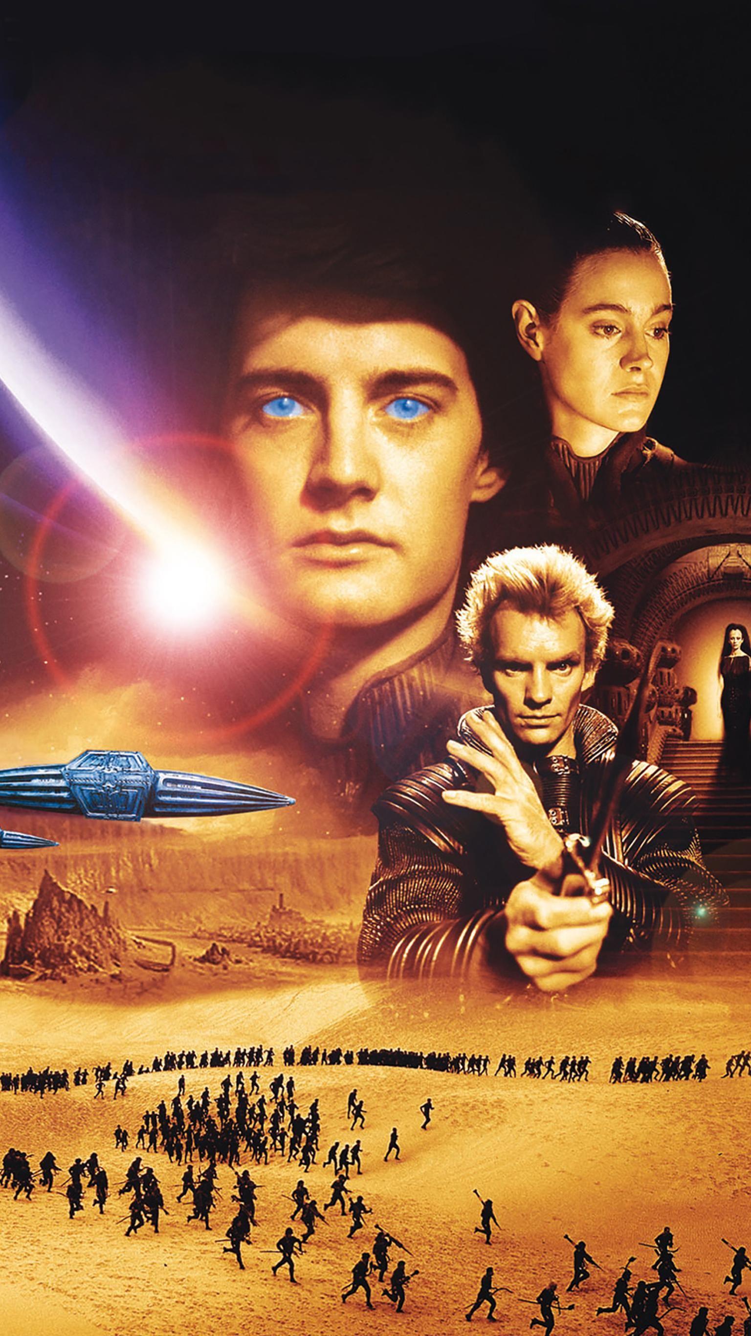 Dune 1984 Phone Wallpaper Moviemania Movie Poster Art Wallpaper Dune