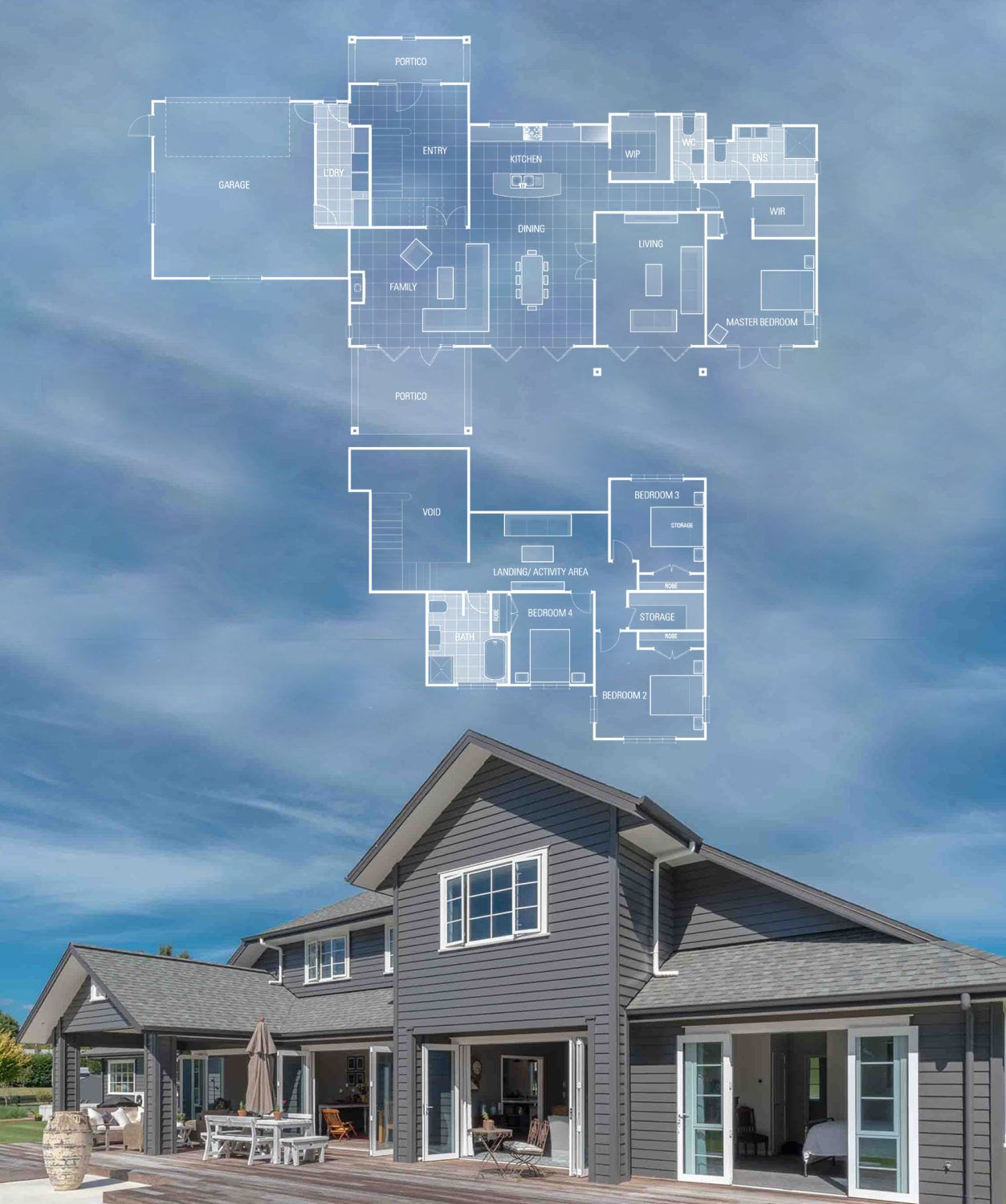 Landmark Showcase Hawea Ready To Build Plan New Zealand Architecture House Layout Plans Architecture Plan