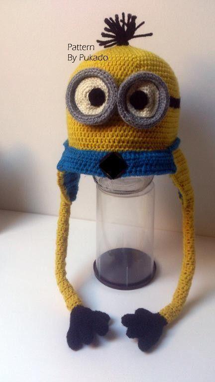 2014 Hat Patterns - Kevin - Halloween Minion costume idea #2014 ...