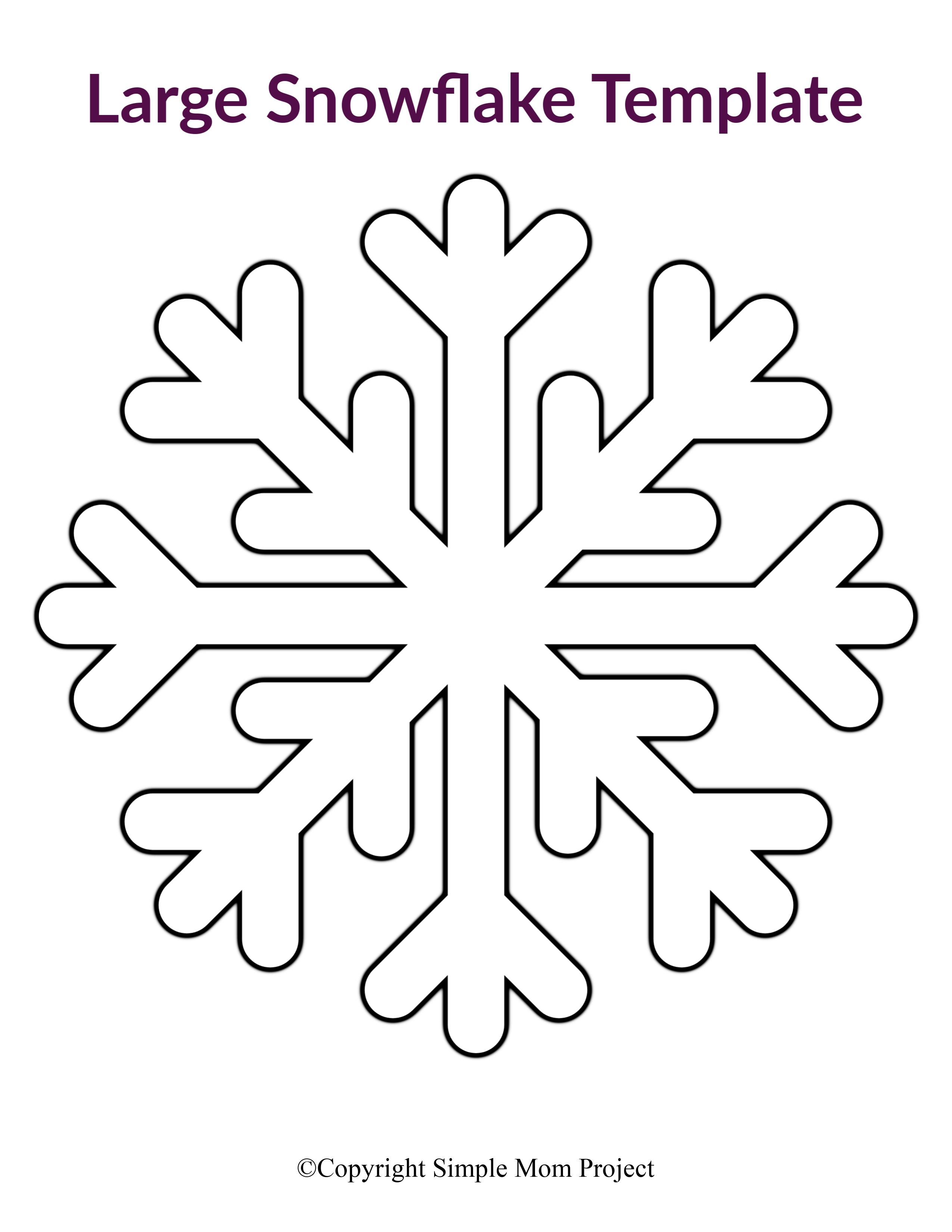 8 Free Printable Large Snowflake Templates Snowflake Template Paper Snowflake Patterns Printable Snowflake Template