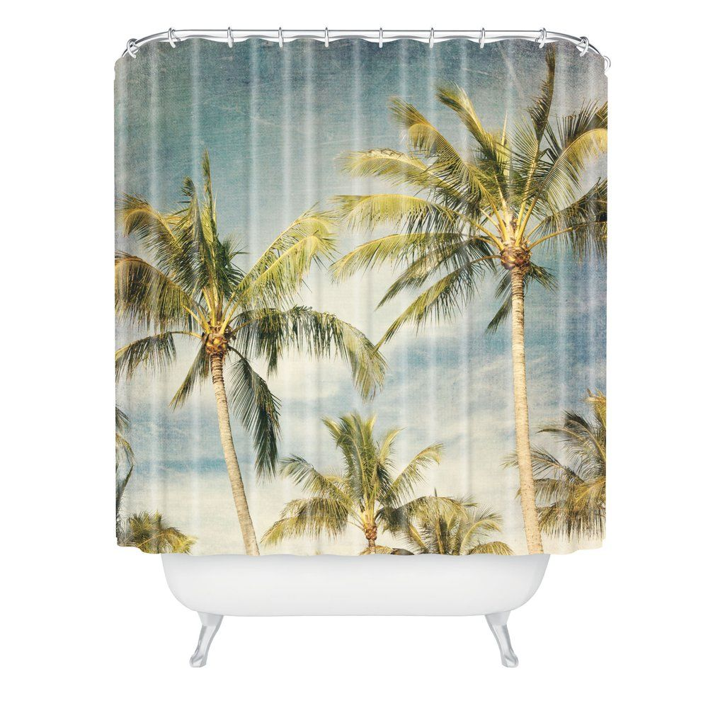 Catherine McDonald Boho Island Shower Curtain