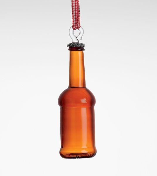 Micro Brew: Garrett Keisling: Art Glass Ornament - Artful Home