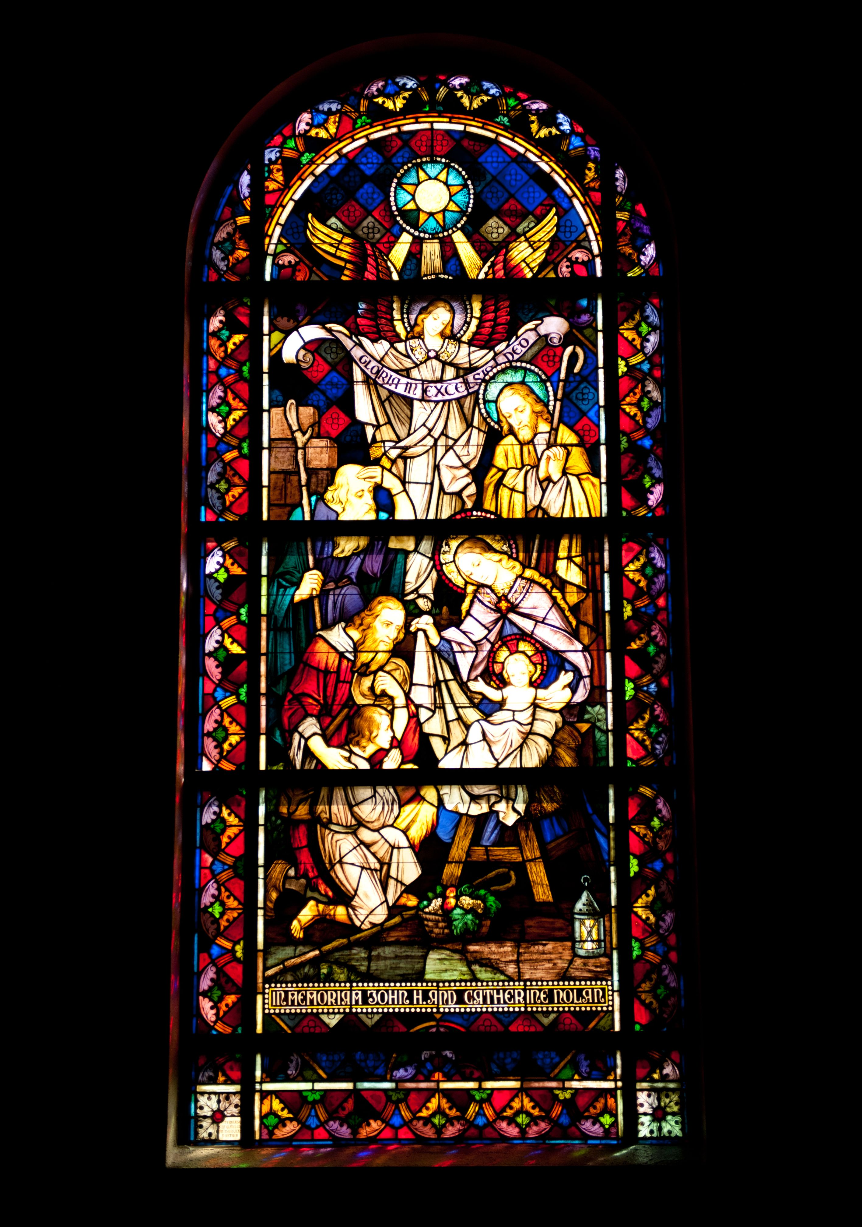 St. Joseph's Catholic Church: Stained Glass Windows Tour ...
