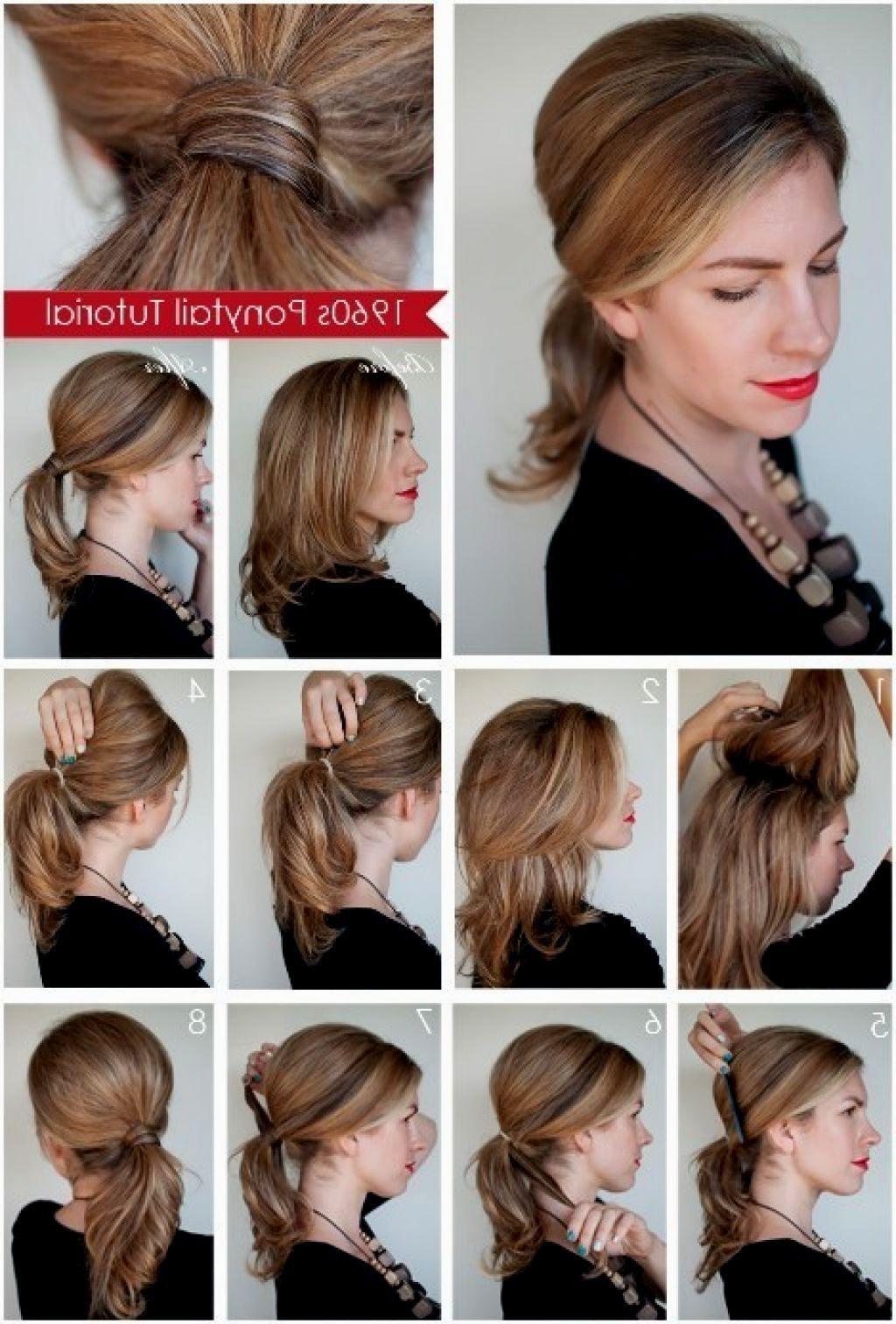 Einfache Frisuren Schulterlanges Haar Frisuren Modelle