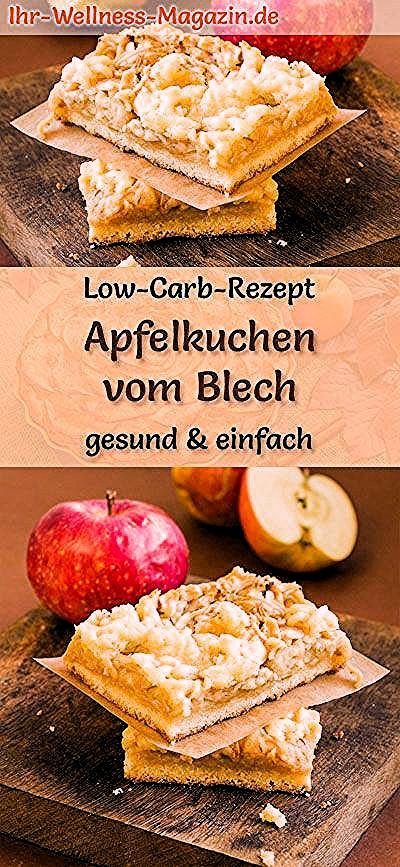 Photo of Apfelkuchen vom Blech: Low-Carb-Rezept für einen saftigen  Apfel-Blechkuchen, o…