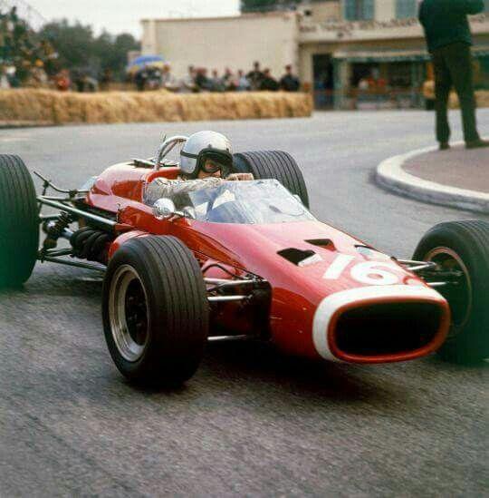 1967 Monaco GP, Monte Carlo : Bruce McLaren, McLaren-BRM M4B #16, Bruce McLaren Motor Racing, 4th. (ph: tumblr.com)