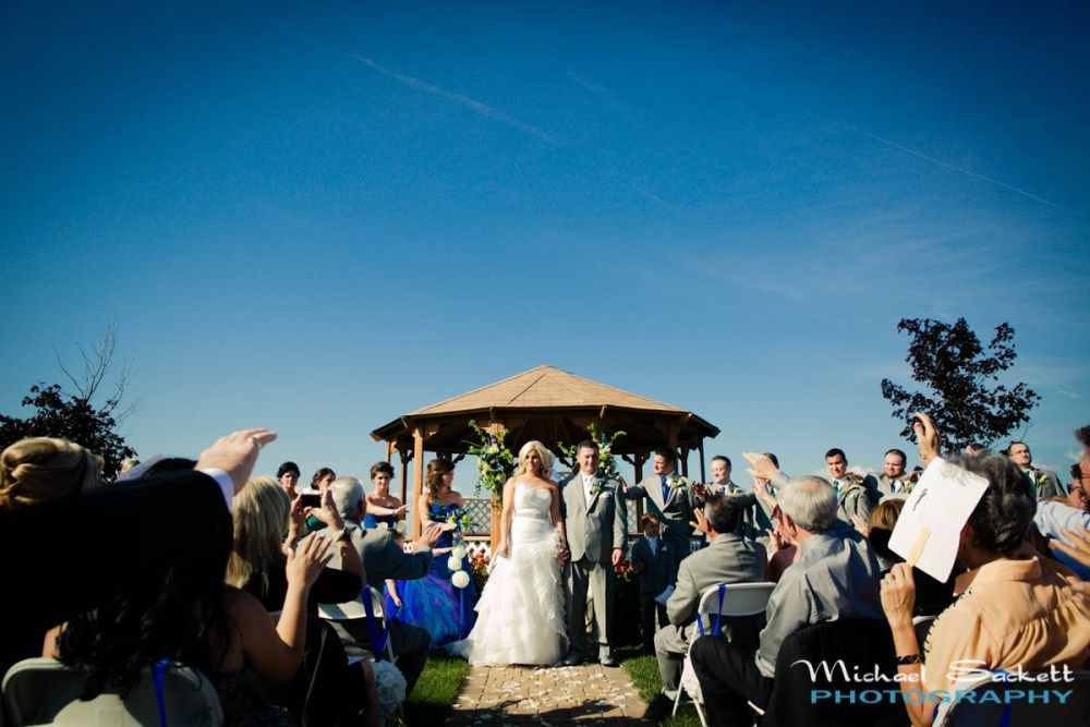 MacRay Harbor Wedding Ceremony @ Belle Maer Marina