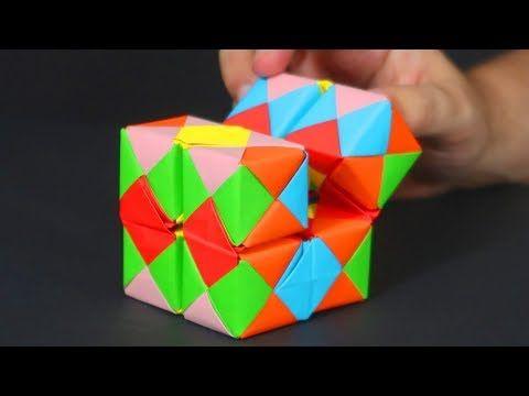 Youtube Como Hacer Un Cubo Manualidades Origami Cajas De Origami