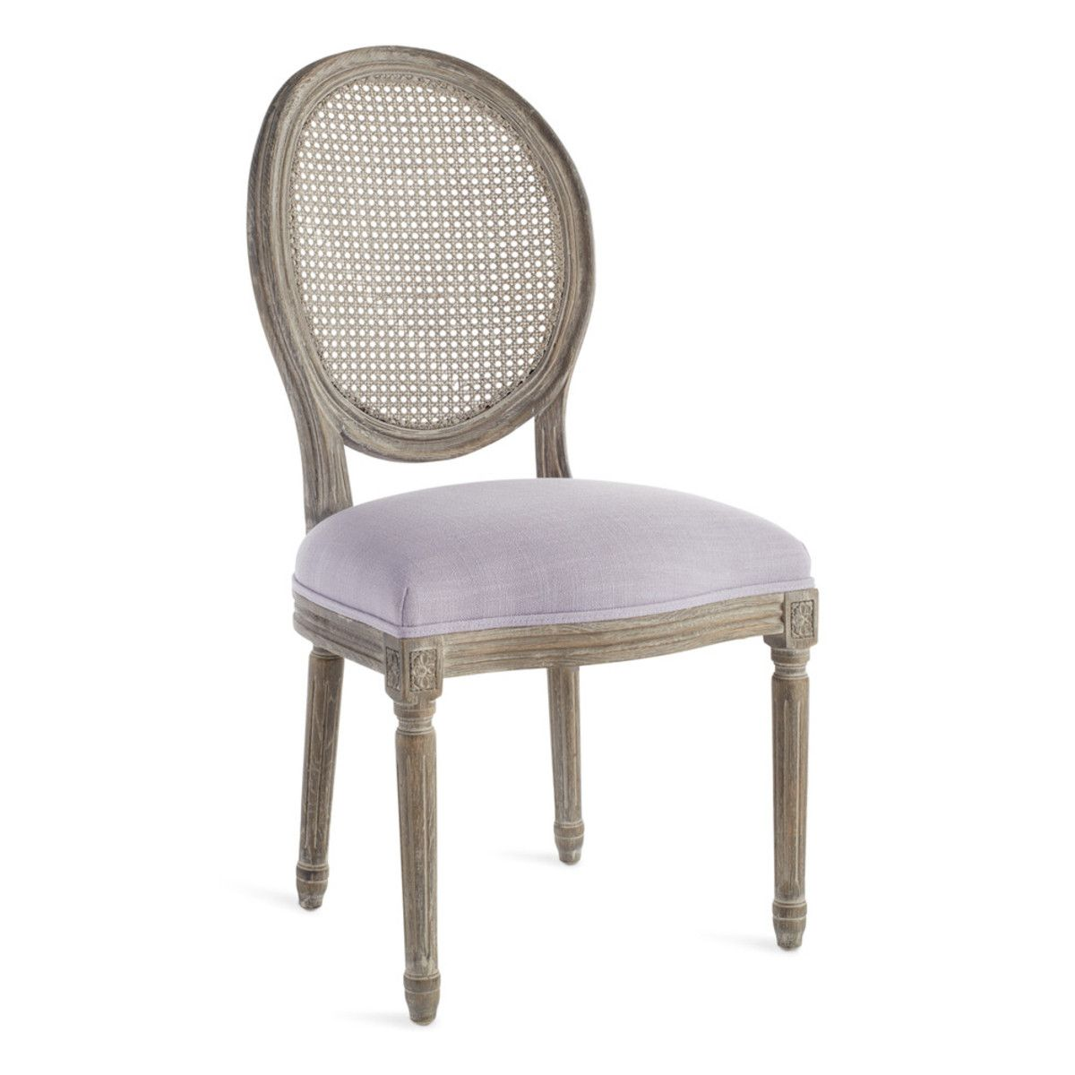 Louis Cane Back Dining Chair Round Back Dining Chairs Dining