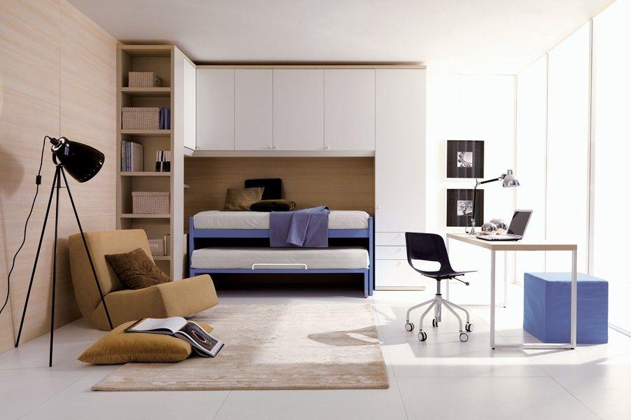 CAMERETTE A PONTE Composizione 205 - Doimo CityLine | girls room ...