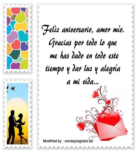 Originales Frases Para Celebrar Aniversarios De Novios