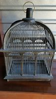 Antique/Vintage Wooden Bird Cage