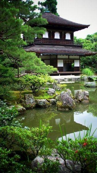 Ginkaku-ji temple, Kyoto, Japan Chicos guapos Pinterest Japon