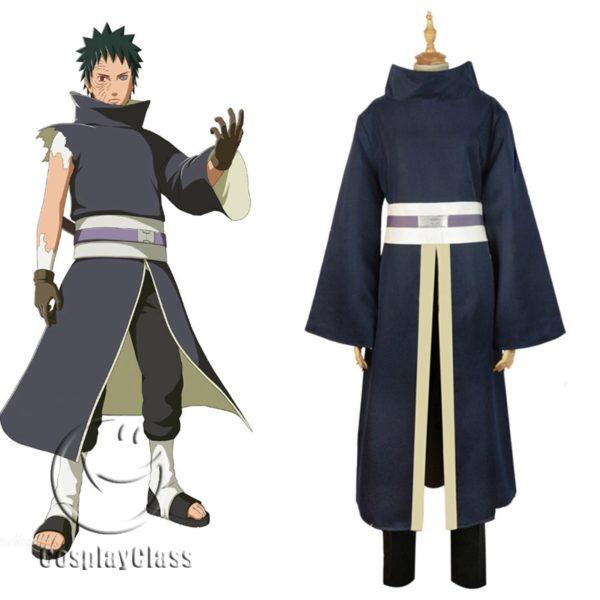 Naruto Shippuden Uchiha Obito Battle Suit Cosplay Costume Cosplayclass Akatsuki Cosplay Cosplay Costumes Cosplay