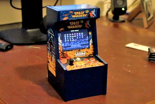 Miniature Video Diy Mini Arcade Cabinet Hack N Mod So Awesome It Would