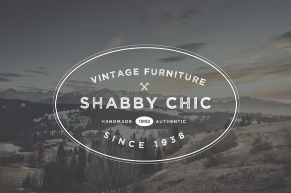 vintage furniture logo. Check Out Vintage Furniture Logo Badge/Emblem By Maroon Baboon On Creative Market