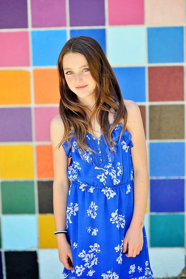 Ten year old beauty. Portrait Photography