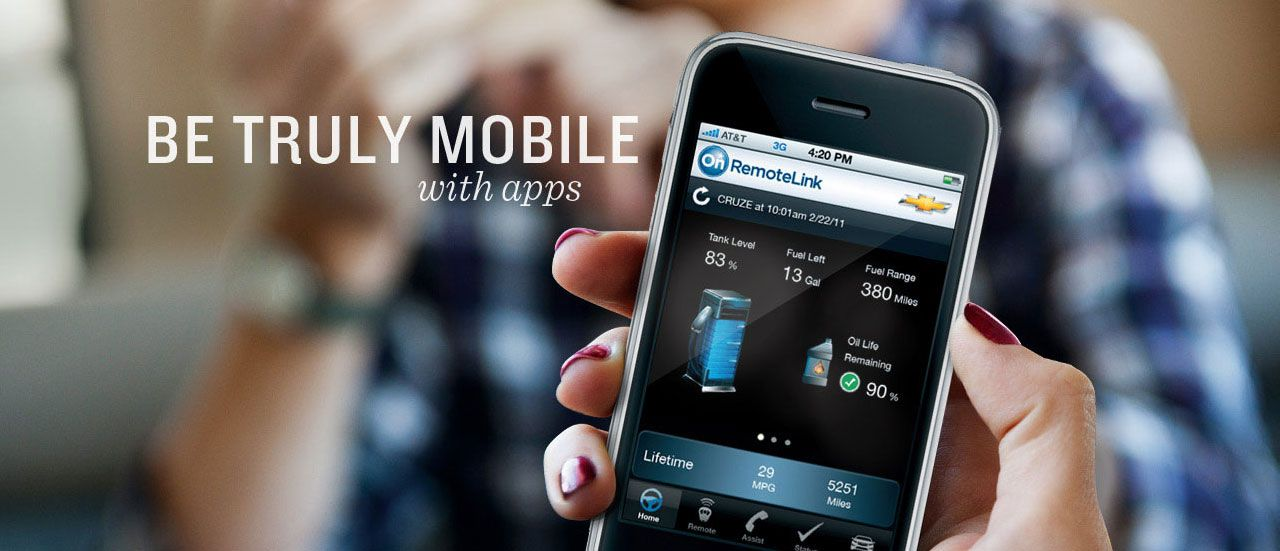 Chevy Culture Be Truly Mobile With Apps App, Chevy